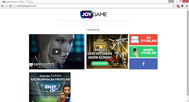 Search.JoyGame.com virus