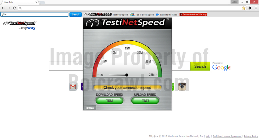 Test iNet Speed