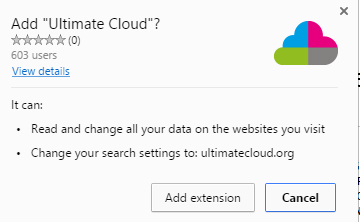 Ultimate Cloud extension