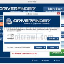 driverfinder register