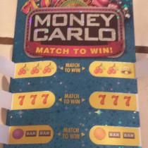 money carlo game piece