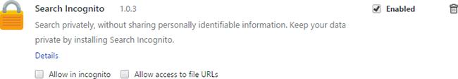 remove Search Incognito