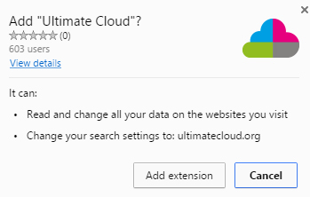 ultimatecloud.org redirect