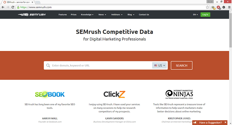what is semrush