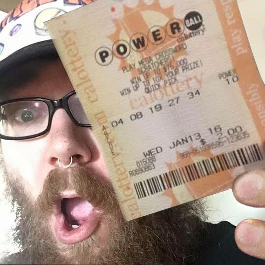 Rich Hanson did not win the Powerball