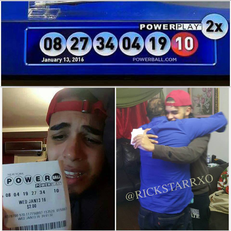 Rickstarr Ferragamo did not win the Powerball