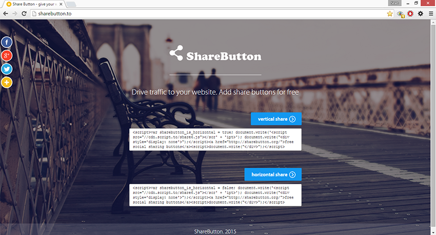 what is share-buttons.xyz
