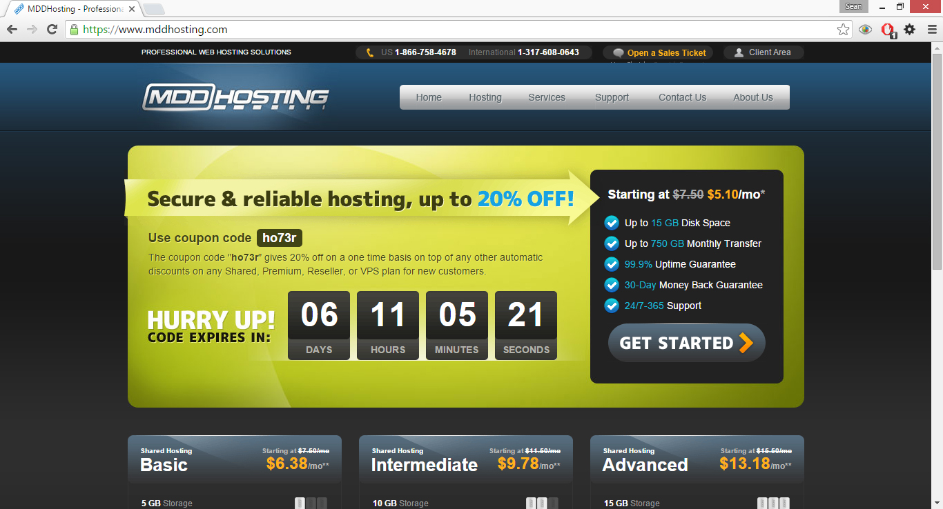 Mddhosting referral