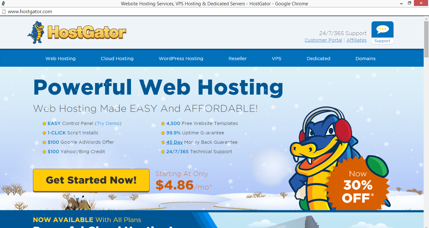 hostgator.com referrer spam