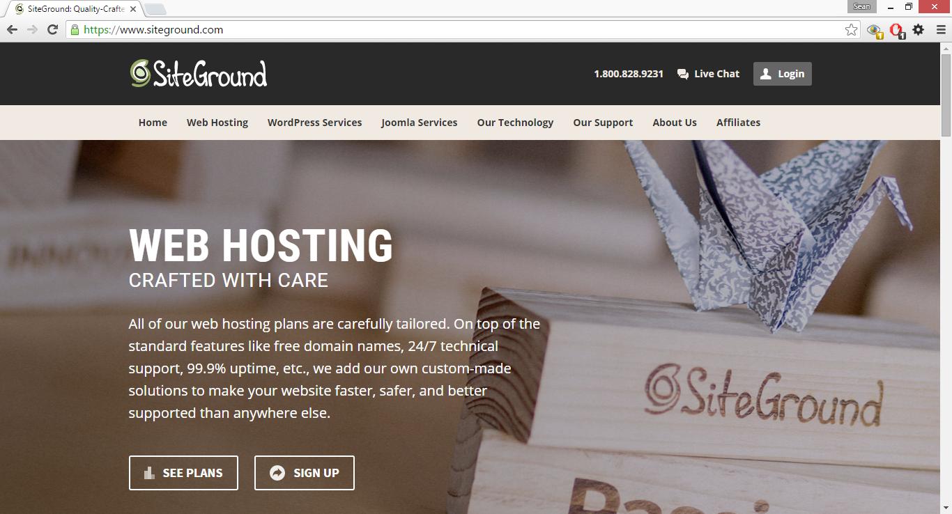 siteground spam google analytics
