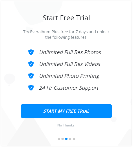 Everalbum free trial