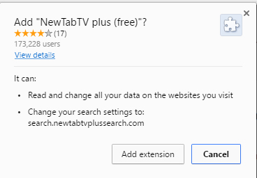 NewTabTV plus (Free) removal instructions