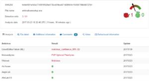 plumbytes virustotal report