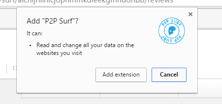 P2P Surf virus