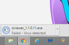 SIViewer virus detected