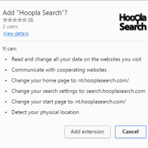 hoopla search permissions