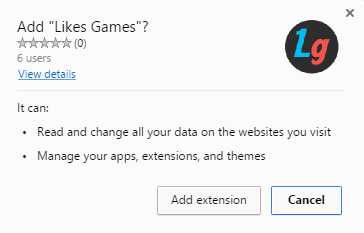 likes games extension