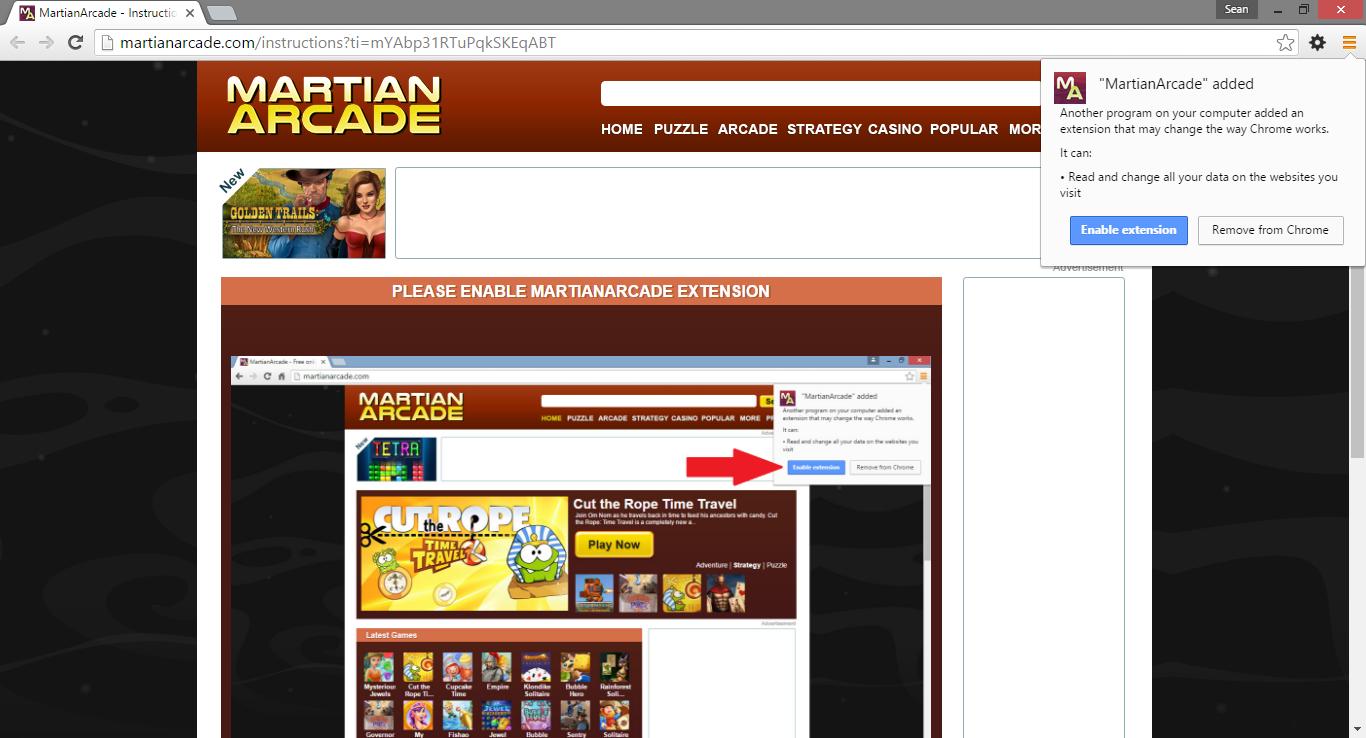martian arcade