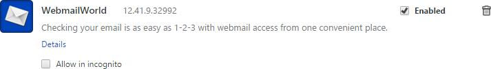 remove webmailworld