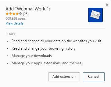webmailworld extension
