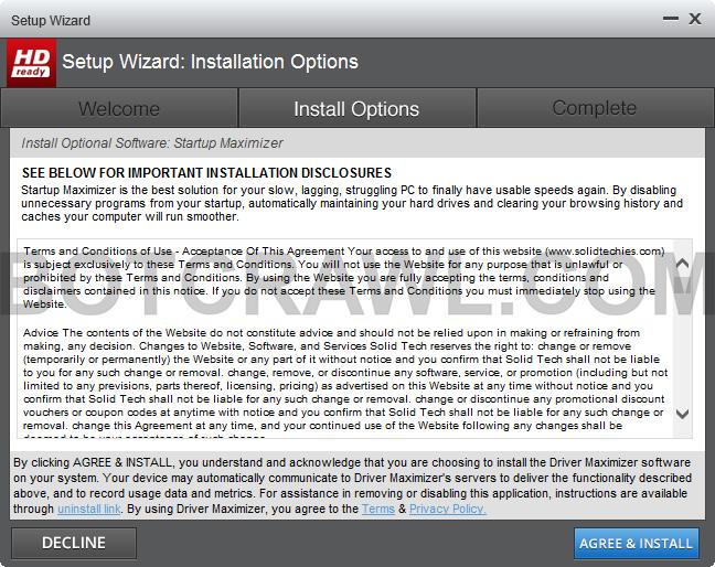 Startup Maximizer install