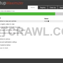 Startup Maximizer scan