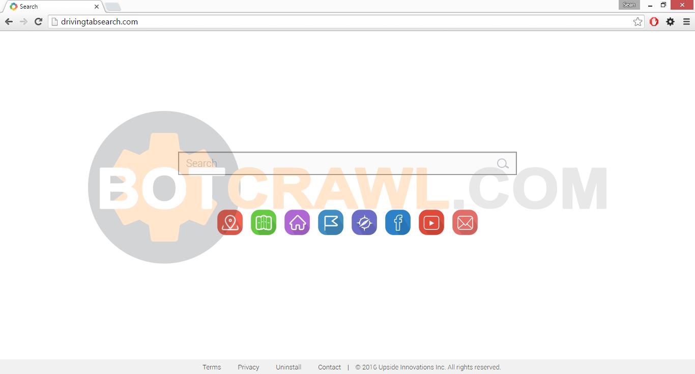 Drivingtabsearch.com virus