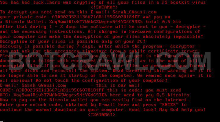 Gricakova@techemail.com virus