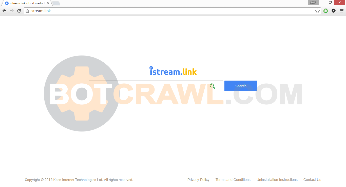 How to remove Istream.link virus