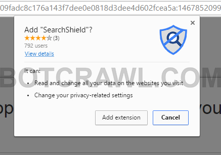 SearchShield extension