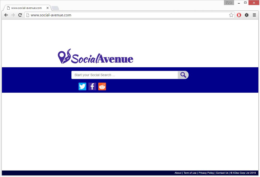 Social-avenue.com virus