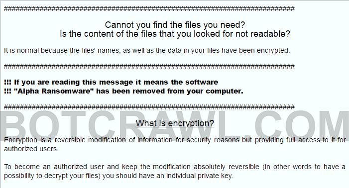alfa ransomware