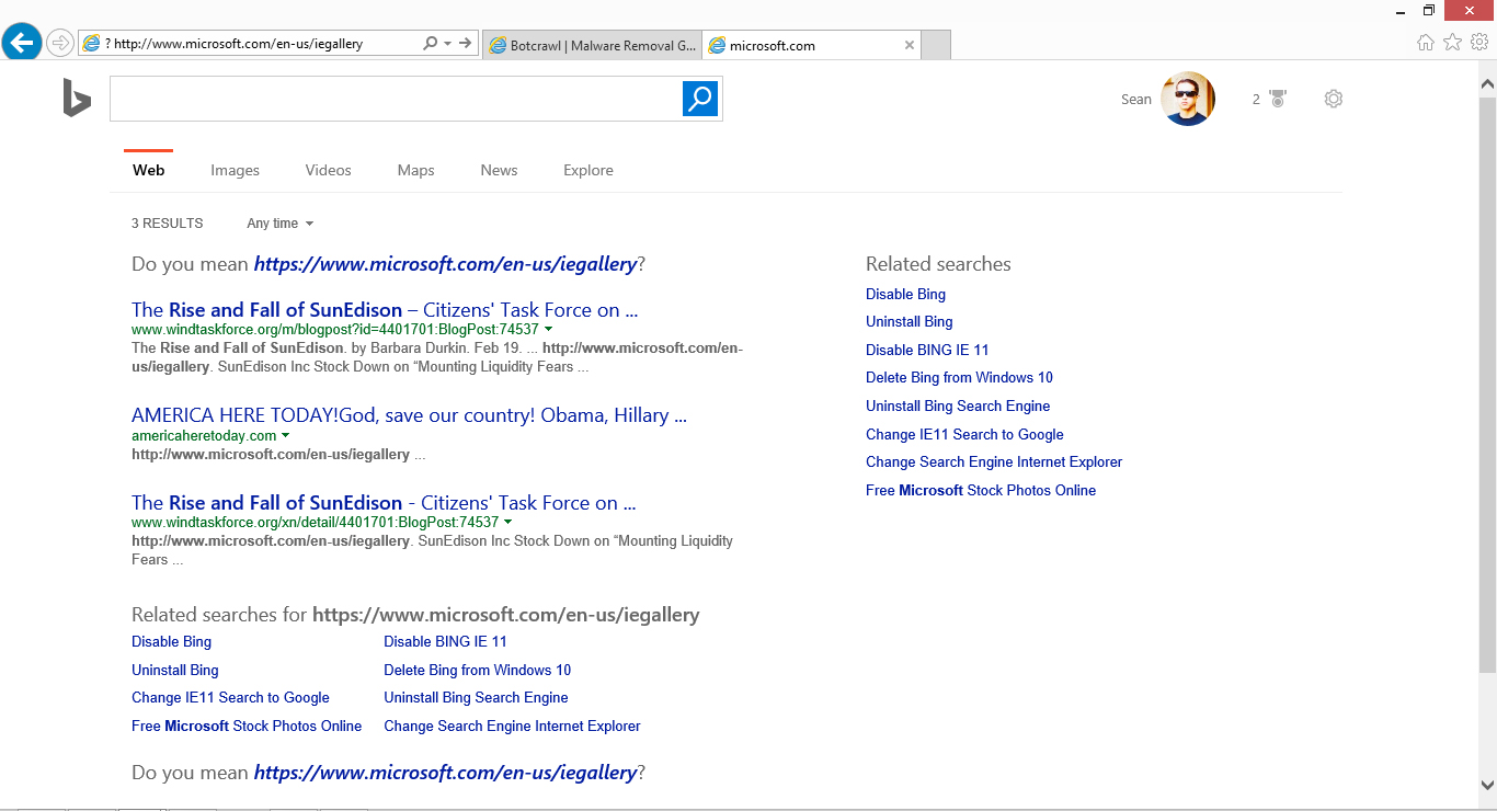 How to change your Microsoft Internet Explorer search engine