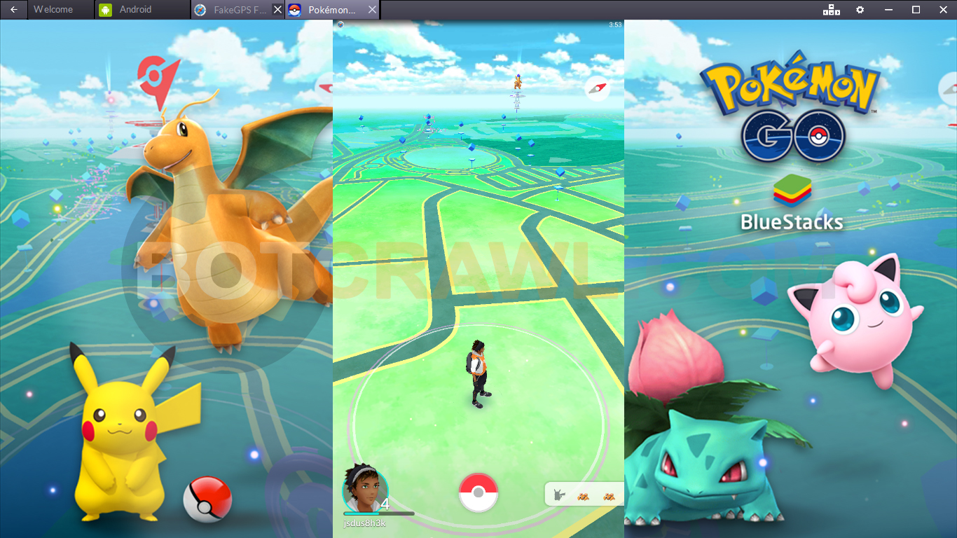 play pokemon go on your computer