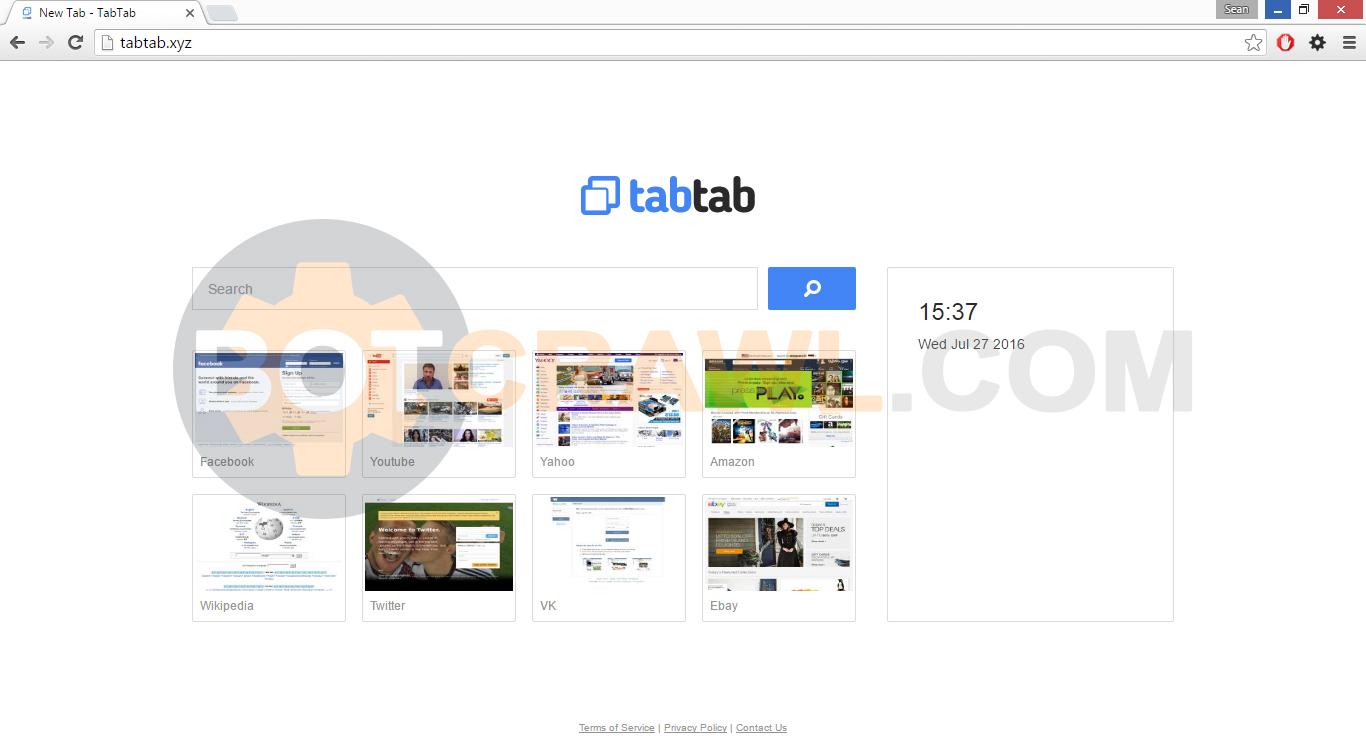 remove tabtab.xyz virus
