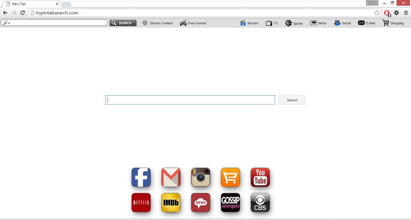 toptvtabsearch.com virus