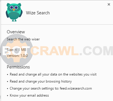 wize search extension