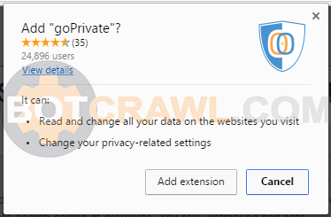 goPrivate extension
