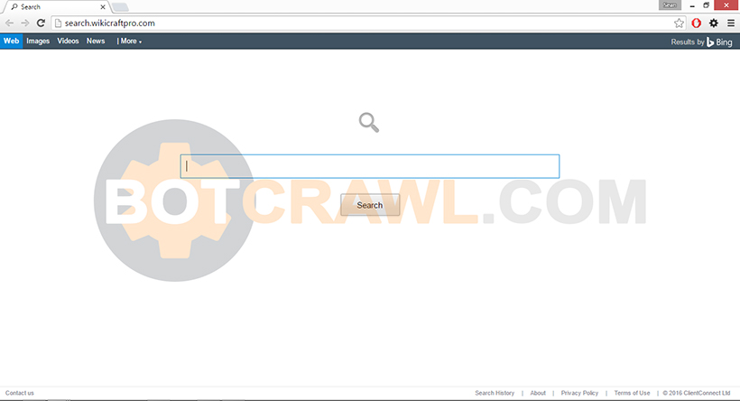 search.wikicraftpro.com virus