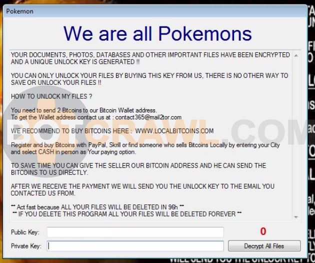 we are all pokemons