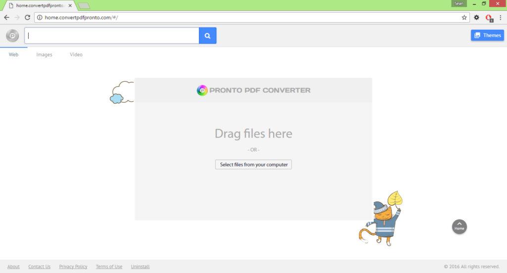 home.convertpdfpronto.com virus