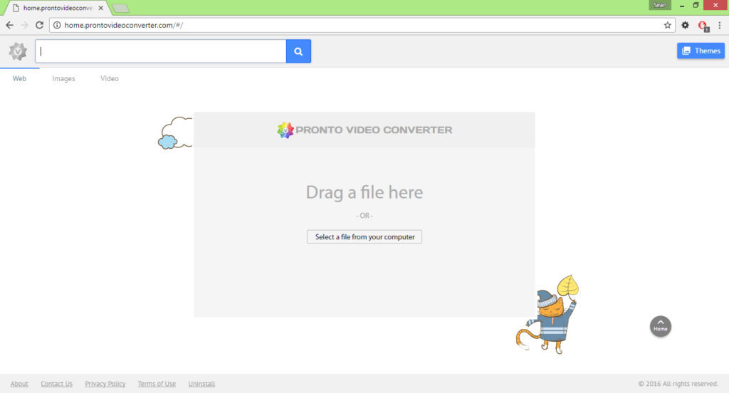 Home.prontovideoconverter.com virus