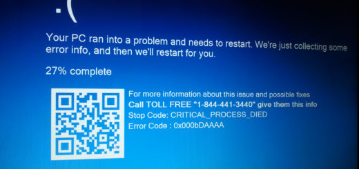 Your PC ran into a problem and needs to restart