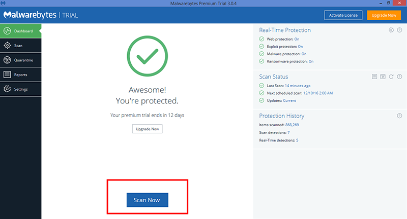 Your PC ran into a problem malwarebytes