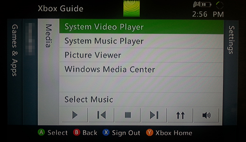 stream video from Windows to Xbox 360 5