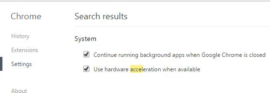 use hardware acceleration