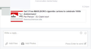 Get 5 Free MARLBORO cigarette cartons to celebrate 100th Anniversary