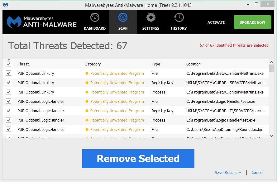 Logic Handler malwarebytes