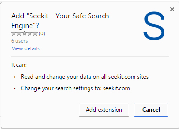 Seekit - Your Safe Search Engine