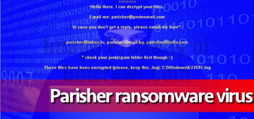 parisher ransomware